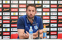 Gareth Southgate, England Manager during England Press Conference at Stade Omnisport, Croissy sur Seine, France  on 12 June 2017 ahead of England's friendly International game against France on 13 June 2017. Photo by David Horn/PRiME Media Images.