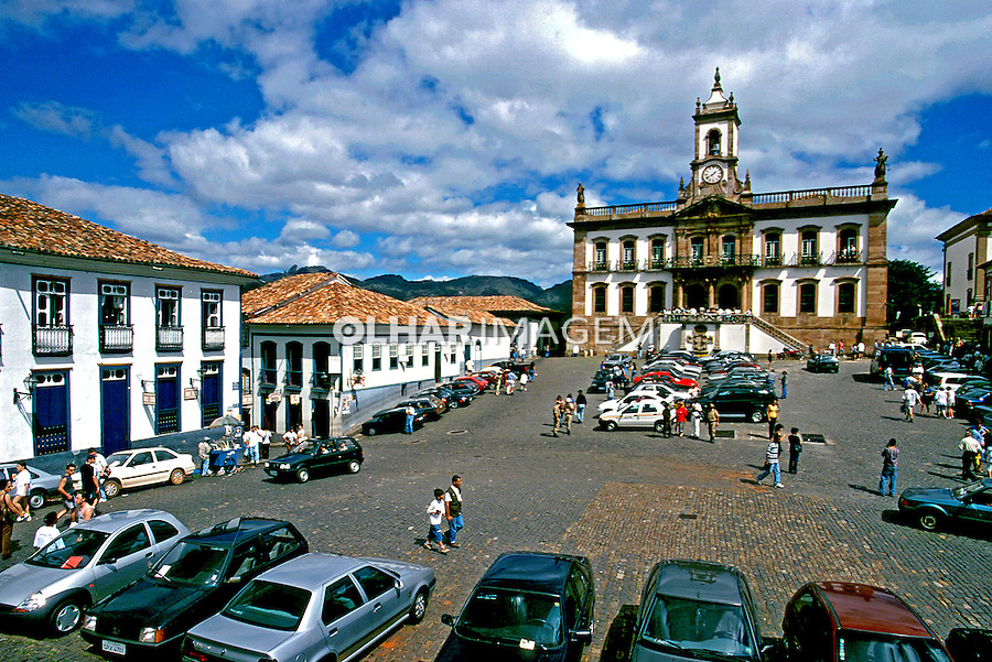 Museu da Inconfidência em Ouro Preto, Minas Gerais. 1999. Foto de Juca Martins.