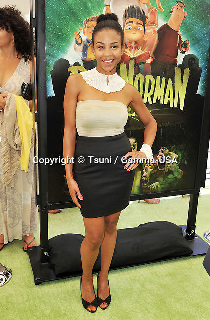 Asha Davis   at The ParaNorman Premiere at the Universal Theatre In Los Angeles.