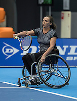 Rotterdam, Netherlands, December 14, 2016, Topsportcentrum, Lotto NK Tennis,  Maaike Derks-Snellenberg (NED)<br /> Photo: Tennisimages/Henk Koster