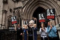 "25.04.2012 - ""End The Murdoch Mafia"" Demonstration"