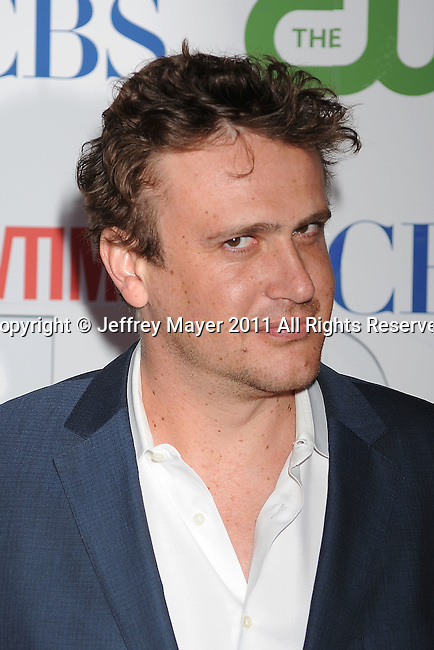 BEVERLY HILLS, CA - AUGUST 03: Jason Segel arrives at the TCA Party for CBS, The CW and Showtime held at The Pagoda on August 3, 2011 in Beverly Hills, California.