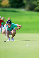 Olivia Mehaffey (Ireland) during final day of the World Amateur Team Championships 2018, Carton House, Kildare, Ireland. 01/09/2018.<br /> Picture Fran Caffrey / Golffile.ie<br /> <br /> All photo usage must carry mandatory copyright credit (&copy; Golffile | Fran Caffrey)