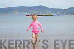 Ellie Carroll from Valentia enjoying the Ballinskelligs Regatta on Sunday.