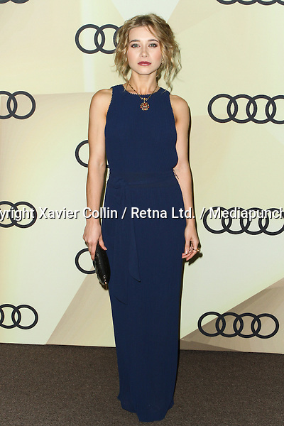 LOS ANGELES, CA - JANUARY 06: Olesya Rulin arrives at the Audi Golden Globe 2013 Kick Off Cocktail Party held at Cecconi's Restaurant on January 6, 2013 in Los Angeles, California. Photo Credit: Xavier Collin / Retna Ltd. / Mediapunch Inc