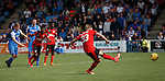 Martyn Waghorn scores his second from the penalty spot