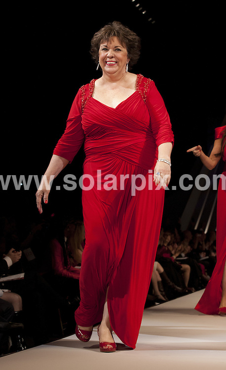 **ALL ROUND PICTURES FROM SOLARPIX.COM**                                             **SYNDICATION RIGHTS FOR UK, AUSTRALIA, DENMARK, PORTUGAL, S. AFRICA, SPAIN & DUBAI (U.A.E) & ASIA (EXCLUDING JAPAN) ONLY**                                                                                  Caption: Fashion runway at the Mercedes-Benz fashion week at the Hammerstein Ballroom in New York City USA                                                                             .This pic:Debbie Phelps                                                                                              JOB REF:14458        PHZ/Mayer       DATE:08.02.2012                                                            **MUST CREDIT SOLARPIX.COM OR DOUBLE FEE WILL BE CHARGED**                                                                      **MUST AGREE FEE BEFORE ONLINE USAGE**                               **CALL US ON: +34 952 811 768 or LOW RATE FROM UK 0844 617 7637**