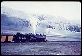 53-9 passenger engine leaving Los Pinos curve, Colorado.&quot;<br /> C&amp;TS (D&amp;RGW)  Los Pinos, CO  Taken by LeMassena, Robert A. - 6/1975