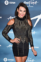 Lizzie Cundy<br /> at the Cirque du Soleil &quot;Amaluna&quot; 1st night, Royal Albert Hall, Knightsbridge, London.<br /> <br /> <br /> &copy;Ash Knotek  D3218  12/01/2017