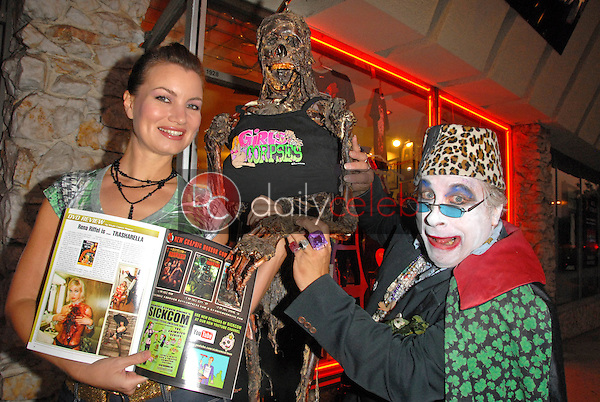 Rena Riffel and Count Smokula<br />
