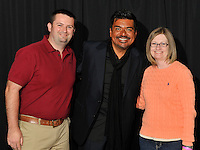 Toyota Motor Manufacturing Kentucky celebrates their 25th Anniversary at Rupp Arena...Magician Marco Tempest, Comedian and actor George Lopez, and singer Tim McGraw performed.