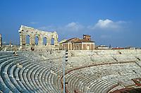 Italy: Verona--Roman Arena. 500' x 420 ', 100 ft. high.