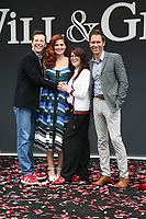 02 August 2017 - Universal City, California.  Sean Hayes, Debra Messing, Megan Mullally, Eric McCormack. 'Will & Grace' start of production kick off event and ribbon cutting ceremony at Universal Studios Photo Credit: PMA/AdMedia