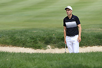Ross Fisher (ENG) in a bunker at the 2nd green during Sunday's Final Round of the WGC Bridgestone Invitational 2017 held at Firestone Country Club, Akron, USA. 6th August 2017.<br /> Picture: Eoin Clarke | Golffile<br /> <br /> <br /> All photos usage must carry mandatory copyright credit (&copy; Golffile | Eoin Clarke)