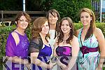 Ellen Cangney, Claire Moynihan, Laura O'Donoghue, Rachel Kelleher and Elaine O'Donoghue Killarney the belles of the Killarney Summerfest Ball in the INEC on Thursday night
