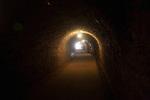 Tunnel in Peña del Hierro Mine, Minas de Riotinto, Rio Tinto mining area, Huelva province, Spain