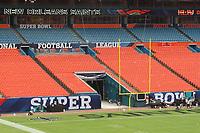 Super Bowl XLIV im Sun Life Stadium von Miami<br /> Super Bowl XLIV Media Day, Sun Life Stadium *** Local Caption *** Foto ist honorarpflichtig! zzgl. gesetzl. MwSt. Auf Anfrage in hoeherer Qualitaet/Aufloesung. Belegexemplar an: Marc Schueler, Alte Weinstrasse 1, 61352 Bad Homburg, Tel. +49 (0) 151 11 65 49 88, www.gameday-mediaservices.de. Email: marc.schueler@gameday-mediaservices.de, Bankverbindung: Volksbank Bergstrasse, Kto.: 52137306, BLZ: 50890000