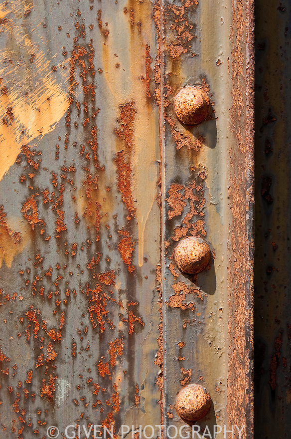 Iron Door and rivets