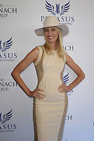 www.acepixs.com<br /> <br /> January 28 2017, Hallandale, FL<br /> <br /> Karolina Kurkova arriving at the Pegasus World Cup at Gulfstream Park on January 28, 2017 in Hallandale, Florida.<br /> <br /> By Line: Solar/ACE Pictures<br /> <br /> ACE Pictures Inc<br /> Tel: 6467670430<br /> Email: info@acepixs.com<br /> www.acepixs.com