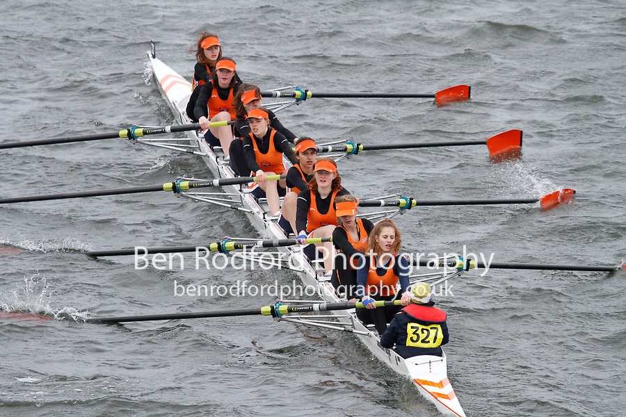 Crew: 327  Lea RC  Event: Girls J15 CHAMP eights<br /> <br /> Schools' Head of the River 2017<br /> <br /> To purchase this photo, or to see pricing information for Prints and Downloads, click the blue 'Add to Cart' button at the top-right of the page.