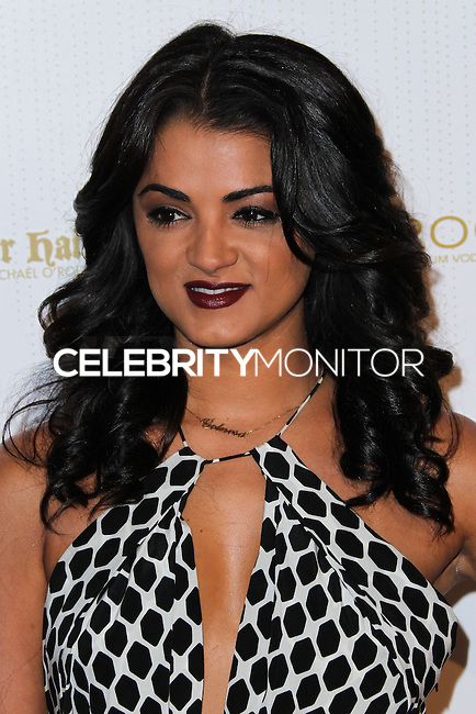 WEST HOLLYWOOD, CA, USA - FEBRUARY 27: Golnesa 'GG' Gharachedaghi at the OK! Magazine Pre-Oscar Party 2014 held at Greystone Manor Supperclub on February 27, 2014 in West Hollywood, California, United States. (Photo by Xavier Collin/Celebrity Monitor)