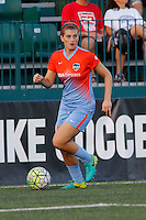 Rochester, NY - Saturday Aug. 27, 2016: Cari Roccaro during a regular season National Women's Soccer League (NWSL) match between the Western New York Flash and the Houston Dash at Rochester Rhinos Stadium.