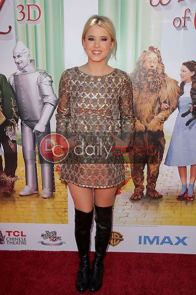 """Taylor Spreitler<br /> at """"The Wizard Of Oz 3D"""" World Premiere Screening and Grand Opening of the TCL Chinese IMAX Theater, Chinese Theater, Hollywood, CA 09-15-13<br /> David Edwards/DailyCeleb.com 818-249-4998"""