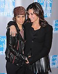 Linda Perry and Gina Gershon attends the An Evening With Women held at The Beverly Hilton in Beverly Hills, California on May 19,2012                                                                               © 2012 DVS / Hollywood Press Agency