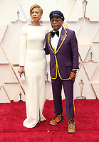 09 February 2020 - Hollywood, California - Spike Lee, Tonya Lewis Lee. 92nd Annual Academy Awards presented by the Academy of Motion Picture Arts and Sciences held at Hollywood & Highland Center. Photo Credit: AdMedia
