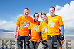 Pro Fitness, Tralee by Leonard Foley, l-r  Tommy Horan, Caroline Sugrue, Linda Sugrue and James Sugrue at the Banna Beast Challenge on Saturday