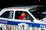 Mark Falvey from Rathmore in his Ford Escort Mark 1 was so close to winning last weekends rally in Killarney only to be beated by .9 of a second.
