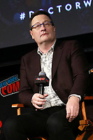 NEW YORK, NY - OCTOBER 7: Chris Chibnall at  Doctor Who BBC America Official Panel at The Hulu Theater at Madison Square Garden at the 2018 New York Comic Con in New York City on October 7, 2018. <br /> CAP/MPI99<br /> ©MPI99/Capital Pictures