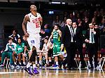 S&ouml;dert&auml;lje 2014-10-11 Basket Basketligan S&ouml;dert&auml;lje Kings - Ume&aring; BSKT :  <br /> Ume&aring;s Germaine Jordan jublar efter att ha gjort po&auml;ng i matchen mellan S&ouml;dert&auml;lje Kings och Ume&aring;<br /> (Foto: Kenta J&ouml;nsson) Nyckelord:  S&ouml;dert&auml;lje Kings SBBK Basket Basketligan T&auml;ljehallen Ume&aring; BSKT jubel gl&auml;dje lycka glad happy portr&auml;tt portrait