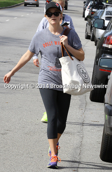 Pictured: Reese Witherspoon<br /> Mandatory Credit &copy; Ben Foster/Broadimage<br /> Reese Witherspoon leaving Yoga Classes in Brentwood<br /> <br /> 3/7/14, Brentwood, California, United States of America<br /> <br /> Broadimage Newswire<br /> Los Angeles 1+  (310) 301-1027<br /> New York      1+  (646) 827-9134<br /> sales@broadimage.com<br /> http://www.broadimage.com<br /> <br /> <br /> Pictured: Reese Witherspoon<br /> Mandatory Credit &copy; Ben Foster/Broadimage<br /> Reese Witherspoon leaving Yoga Classes in Brentwood<br /> <br /> 3/7/14, Brentwood, California, United States of America<br /> Reference: 030714_HDLA_BDG_026<br /> <br /> Broadimage Newswire<br /> Los Angeles 1+  (310) 301-1027<br /> New York      1+  (646) 827-9134<br /> sales@broadimage.com<br /> http://www.broadimage.com
