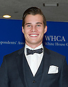 Marcus Johns arrives for the 2015 White House Correspondents Association Annual Dinner at the Washington Hilton Hotel on Saturday, April 25, 2015.<br /> Credit: Ron Sachs / CNP