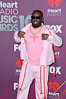 LOS ANGELES, CA. March 14, 2019: T-Pain at the 2019 iHeartRadio Music Awards at the Microsoft Theatre.<br /> Picture: Paul Smith/Featureflash