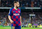 FC Barcelona's defense Jordi Alba during La Liga match. Mar 01, 2020. (ALTERPHOTOS/Manu R.B.)
