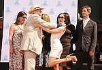 HOLLYWOOD, CA - APRIL 30: Kate O'Toole, Peter O'Toole, Lorcan O'Toole and Rose McGowan attend the TCM Classic Film Festival honors Actor Peter O'Toole with hand and foot ceremony held at Grauman's Chinese Theatre on April 30, 2011 in Hollywood, California.