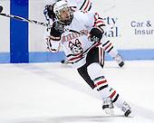 Steve Silva (NU - 17) - The Northeastern University Huskies defeated the Boston College Eagles 3-2 on Friday, February 19, 2010, at Matthews Arena in Boston, Massachusetts.