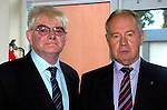 Photograghed at Miltown Secondary School 50th anniversary were Denis Fitzpatrick and Gerard Cronin.<br /> Photograph Sally MacMonagle.
