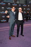 James Gunn &amp; Michael Rooker at the world premiere for &quot;Guardians of the Galaxy Vol. 2&quot; at the Dolby Theatre, Hollywood. <br /> Los Angeles, USA 19 April  2017<br /> Picture: Paul Smith/Featureflash/SilverHub 0208 004 5359 sales@silverhubmedia.com