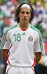 10 June 2007: Mexico's Jose Andres Guardado. The Honduras Men's National Team defeated the National Team of Mexico 2-1 at Giants Stadium in East Rutherford, New Jersey in a first round game in the 2007 CONCACAF Gold Cup.