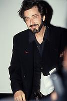 FILE PHOTO - Al Pacino<br />  au Festival du Nouveau cinema 1993<br /> <br /> PHOTO :   Agence quebec Presse