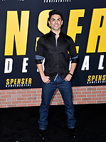 """LOS ANGELES, CA: 27, 2020: Diego Tinoco at the world premiere of """"Spenser Confidential"""" at the Regency Village Theatre.<br /> Picture: Paul Smith/Featureflash"""