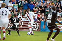 Manchester City's Jo during a match at Merlo Field in Portland Oregon on July 17, 2010.