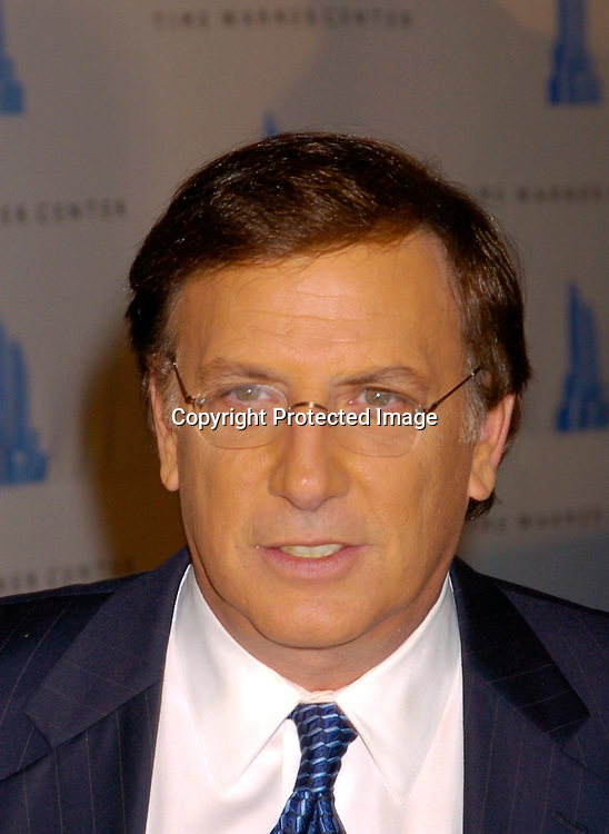 Aaron Brown at the Time Warner Center grand opening on ..February 4, 2004 in New York City. Photo by Robin Platzer, Twin Images...at the Time Warner Center grand Opening on February 4, 2004 in New York City. Photo by Robin Platzer, Twin Images