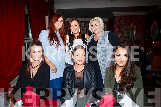 Michaela's Birthday and Girl night out at Cassidy's on Friday were front l-r Caitriona O'Connell, Caitriona Dowling, Emma Hayes, Back l-r Stacy Boyle, Michaela Brosnan and Lorren Quirke