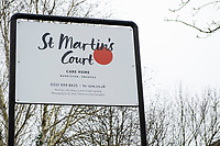 "Pictured: A General View of St Martin's Court, Morriston, Swansea, Wales, UK. Thursday 24 January 2019<br /> Re: An 86 year old female pensioner who broke her leg had to wait almost two days for an ambulance to take her to hospital.<br /> Staff at St Martin's Court Care Home in Swansea called 999 when Mary Duffy, who suffers with dementia fell from a chair on Sunday evening which caused her limb to break in two places.<br /> They were advised by 999 staff not to give the woman any food or drink before the paramedics arrive.<br /> It was not until 5.30pm on Tuesday that an ambulance arrived to take her to hospital.<br /> Her son Tim said: ""When I called the second time they told staff to get her ready, but time was going on, and she was in agony, so they gave her painkillers.<br /> ""I am fuming about the wait she had to endure, although that is not all directed at the paramedics or hospital hospital staff or staff at the care home.""<br /> ""All of them were brilliant, and the service they provided was excellent but it is the system at fault."" he added."