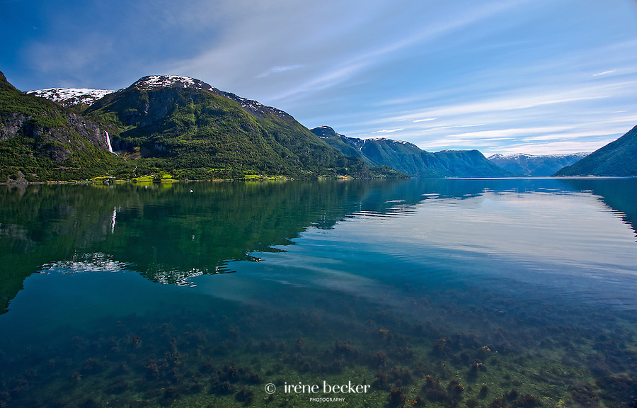 The Lustrafjord, Norway