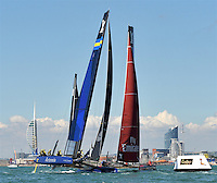 Louis Vuitton America's Cup World Series Portsmouth on July 21-24. 2016 in Portsmouth, England.